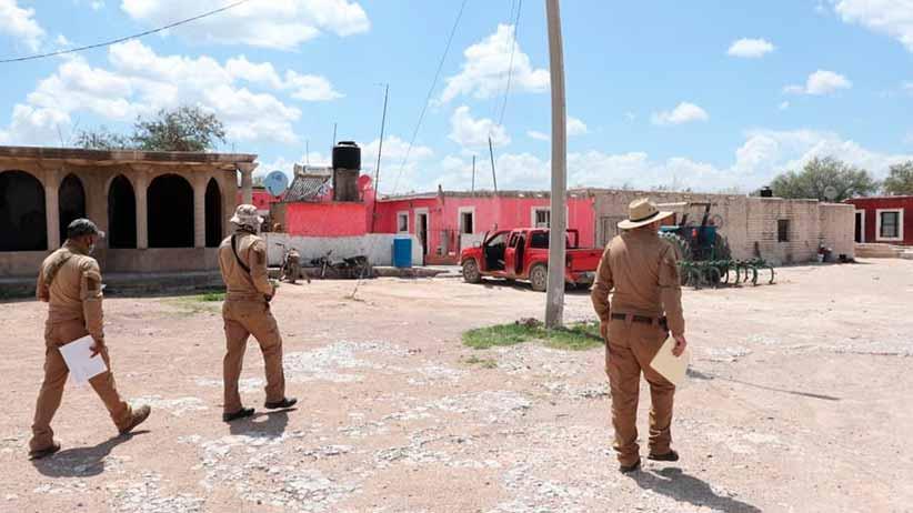 Comisión Local de Búsqueda de Personas realiza operativo en comunidades de Villa de Cos