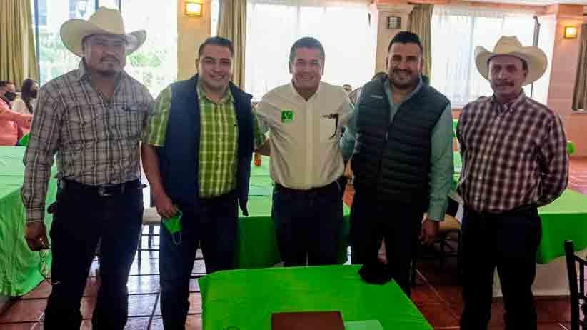 Se reúne la Dirigencia del Partido Verde Ecologista de México con sus candidatos, Alcaldes y Regidores Electos.