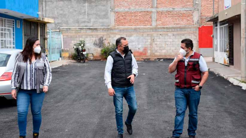 Reencarpeta municipio de Guadalupe cinco privadas en Colonia Valles I