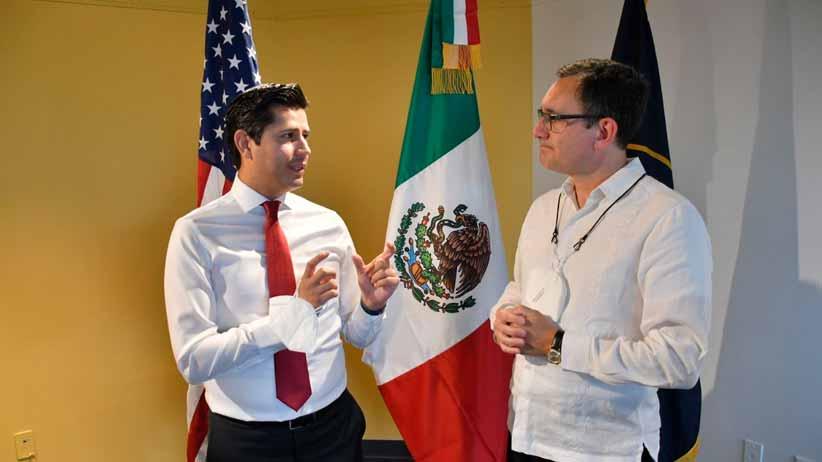 En Salt Lake City Reafirma Julio César Chávez relación con instituciones gubernamentales y de salud