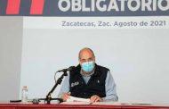 Vacunación, responsabilidad y empatía de todos evitarán que Zacatecas pase al semáforo rojo
