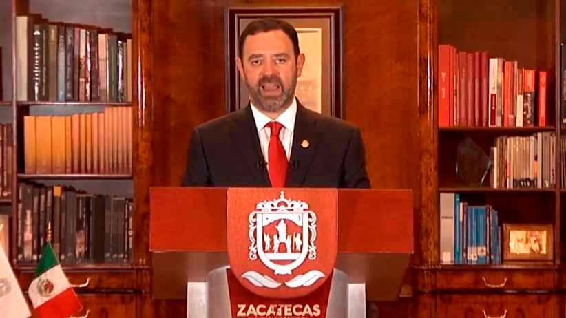 Me retiro con la frente en alto y la conciencia tranquila de haber hecho mucho por Zacatecas: Gobernador Alejandro Tello