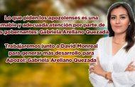 Lo que piden los apozolenses es una amable y adecuada atención por parte sus gobernantes: Gabriela Arellano Quezada (video)