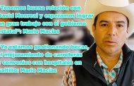 """""""Tenemos buena relación con David Monreal y esperamos lograr un gran trabajo con el gobierno estatal"""": Mario Macías"""