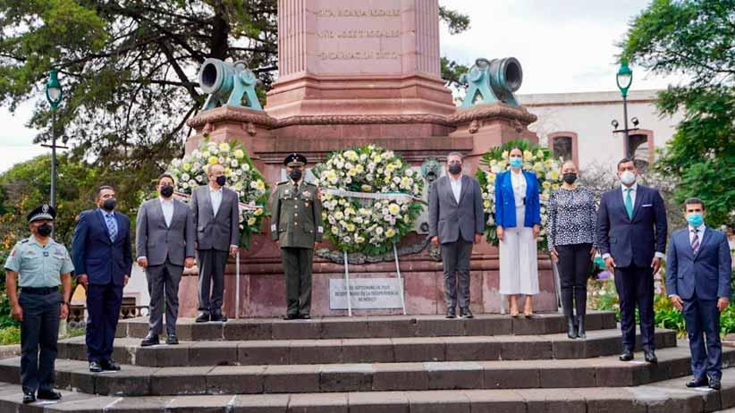 Conmemora Jorge Miranda Castro aniversario 211 de la Independencia de México