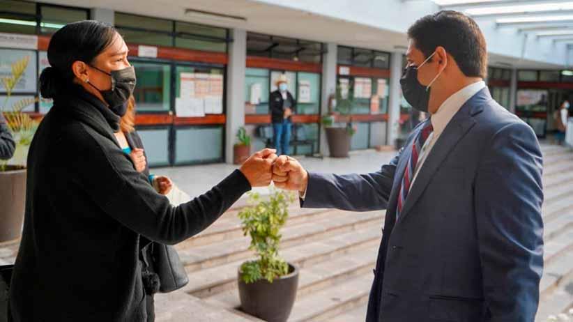 Instruye Jorge Miranda a servidores públicos a que brinden una atención oportuna a las y los ciudadanos