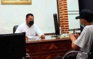 Gil Martínez lleva a cabo primera audiencia pública para los tabasquenses