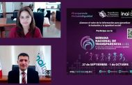 Por primera vez, Semana Nacional de Transparencia se descentraliza; inicia en Zacatecas: del Río Venegas