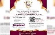 Convocan a guadalupenses a participar en Premio Juvenil 2021