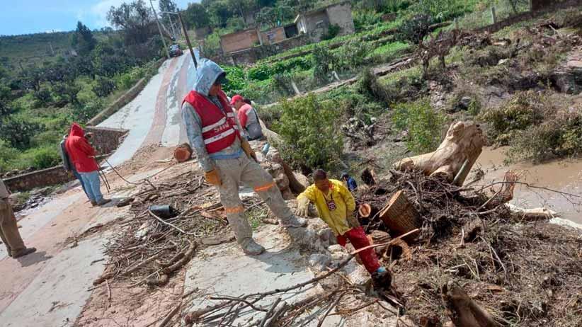 Avanza Gobierno de Zacatecas en la rehabilitación de la red de agua potable en Genaro Codina