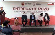 David Monreal y Julio César Chávez  le cumplen a la comunidad de El Bordo