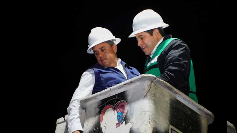 Zacatecas será una capital iluminada;  Arranca instalación de luminarias led en la González Ortega