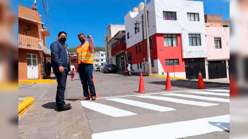 Supervisa alcalde Jorge Miranda rehabilitación de espacios públicos en la Díaz Ordaz