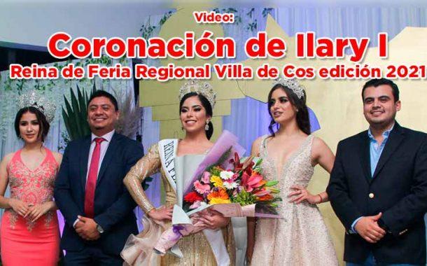 Coronación de Ilary I, Reina de Feria Regional Villa de Cos edición 2021