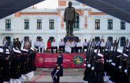 En Veracruz, presidente encabeza celebración por 200 años de la Armada de México