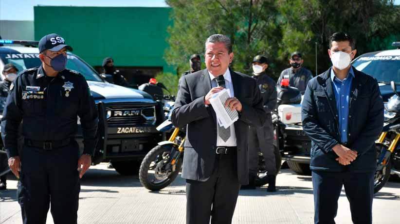 Con la entrega de patrullas y equipo táctico personal se fortalece la Seguridad Pública Municipal de Guadalupe