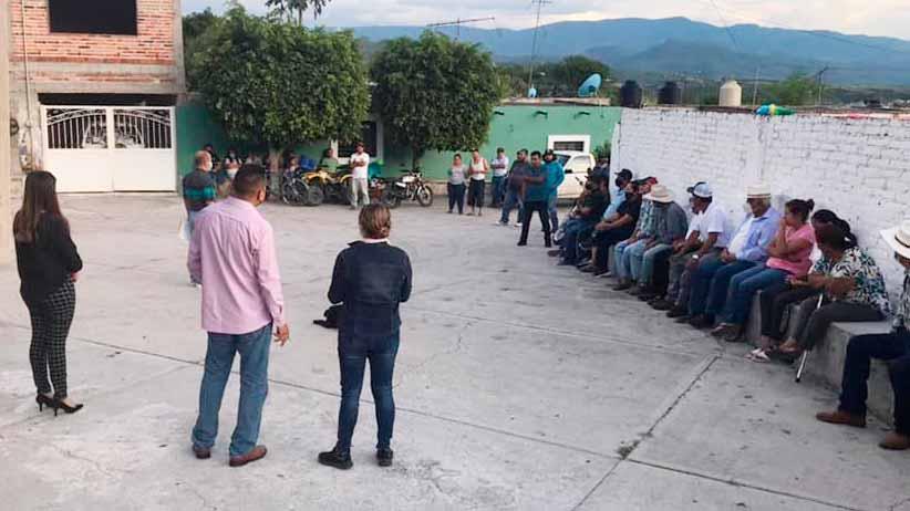Inicia la integración de Comités de Participación Social en comunidades de Apozol
