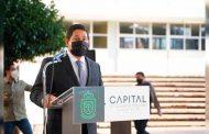 Encabeza Jorge Miranda Honores a la Bandera en la Secundaria Técnica 1