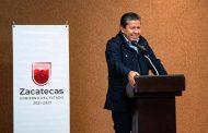 Informa Gobernador David Monreal al magisterio el origen de la crisis financiera de Zacatecas y la ruta para la solución de fondo