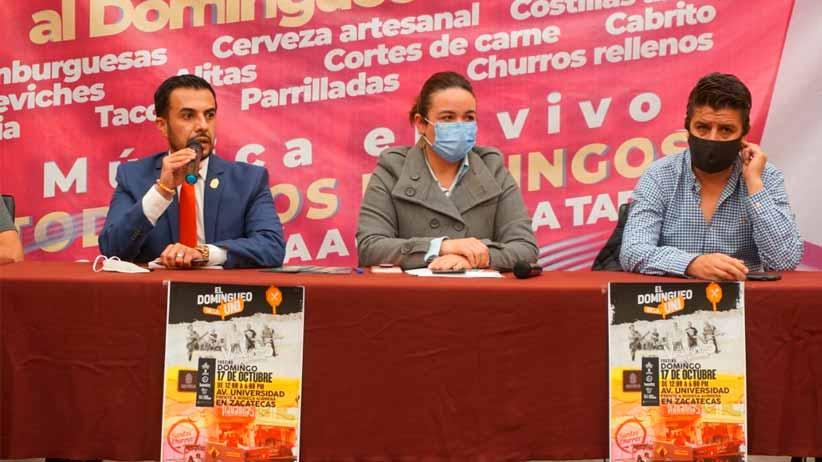 """Anuncia Ayuntamiento Capitalino evento gastronómico """"El domingueo de la Uni"""""""