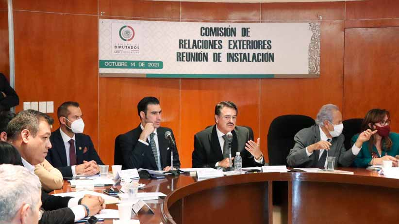 Se instala comisión de relaciones exteriores