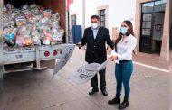 Fresnillo se solidariza con Genaro Codina y Ciudad Cuauhtémoc; DIF Municipal entrega despensas