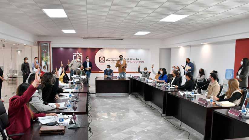 Integran comisiones edilicias en el Ayuntamiento de Guadalupe