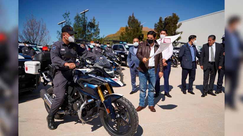 Pese a crisis financiera, refuerza Gobernador David Monreal a corporaciones policiacas con más patrullas y equipamiento
