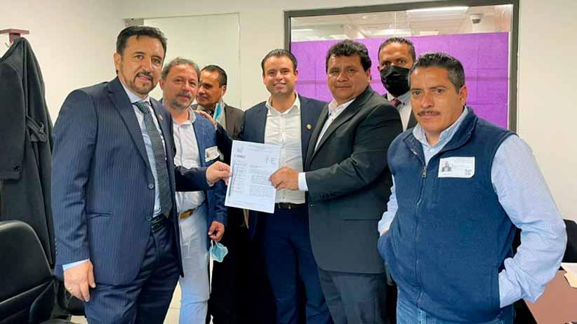 Miguel Torres atiende a líderes sindicales zacatecanos en la Cámara de Diputados