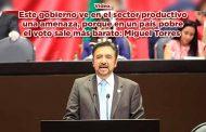 Este gobierno ve en el sector productivo una amenaza, porque en un país pobre el voto sale más barato: Miguel Torres (video)