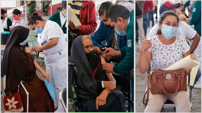 En jornada inédita de vacunación, Brigadas Correcaminos inmunizan a 15 mil personas